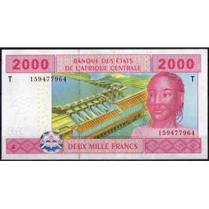Конго 2000 франков 2002 - UNC