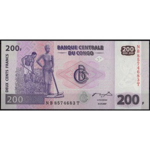 ДР Конго 200 франков 2007 - UNC