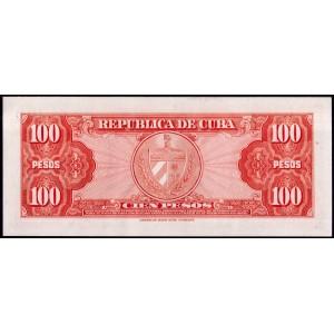 Куба 100 песо 1959 - UNC