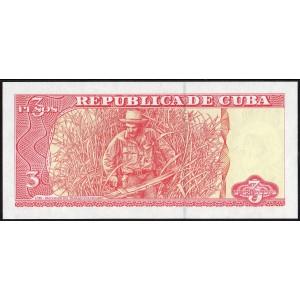 Куба 3 песо 2004 - UNC