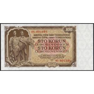 Чехословакия 100 крон 1953 - UNC