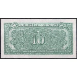 Чехословакия 10 крон 1945 (образец) - UNC