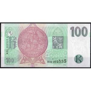 Чехия 100 крон 1997 - UNC