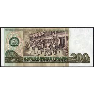 ГДР 200 марок 1985 - UNC