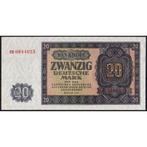 ГДР 20 марок 1955 - UNC