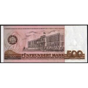 ГДР 500 марок 1985 - UNC