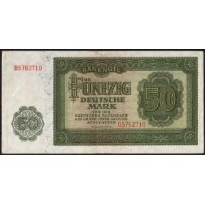 ГДР 50 марок 1948 - VF+