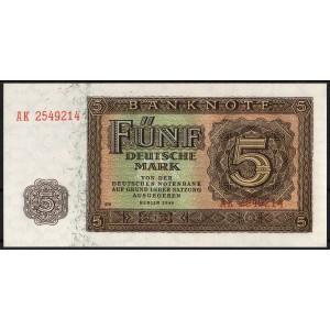 ГДР 5 марок 1948 - UNC