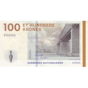 Дания 100 крон 2009 - UNC