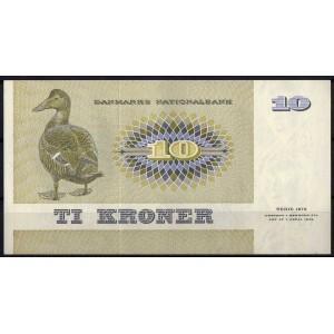 Дания 10 крон 1972 - UNC