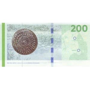 Дания 200 крон 2010 - UNC