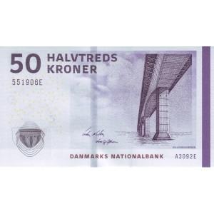 Дания 50 крон 2009 - UNC