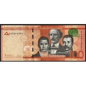 Доминикана 100 песо 2014 - UNC