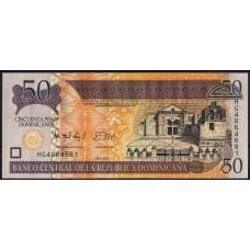 Доминикана 50 песо 2012 - UNC
