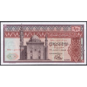 Египет 10 фунтов 1976 - UNC