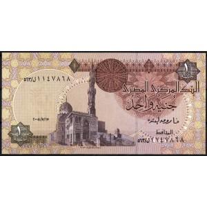Египет 1 фунт 2008 - UNC