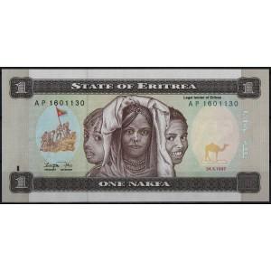 Эритрея 1 накфа 1997 - UNC