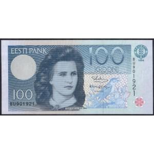 Эстония 100 крон 1994 - UNC