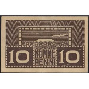 Эстония 10 пенни 1919 - AUNC