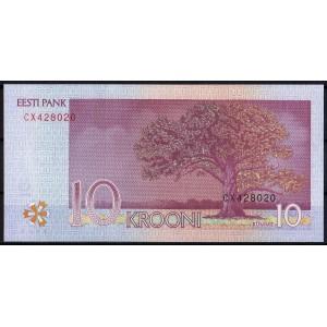 Эстония 10 крон 2007 - UNC