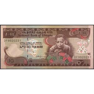 Эфиопия 10 быр 2006 - UNC