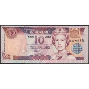 Фиджи 10 долларов 2002 - UNC