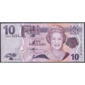 Фиджи 10 долларов 2007 - UNC