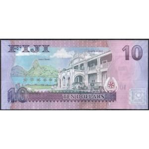 Фиджи 10 долларов 2012 - UNC