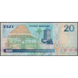 Фиджи 20 долларов 2002 - UNC