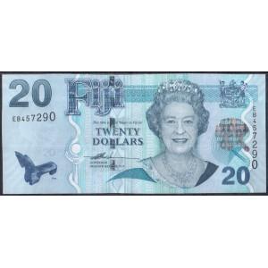 Фиджи 20 долларов 2007 - UNC