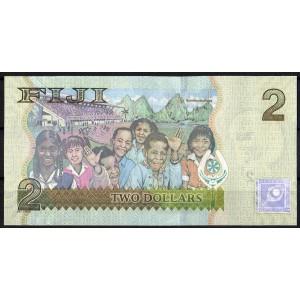 Фиджи 2 доллара 2007 - UNC