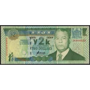 Фиджи 2 доллара 2000 - UNC