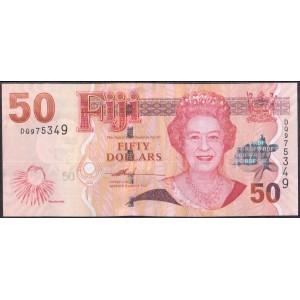 Фиджи 50 долларов 2007 - UNC