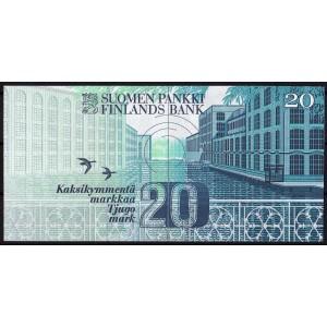 Финляндия 20 марок 1993 - UNC
