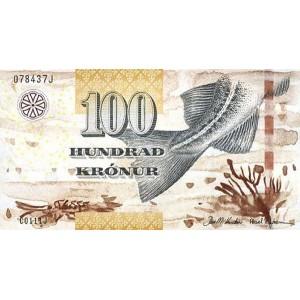 Фарерские острова 100 крон 2011 - UNC