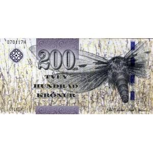 Фарерские острова 200 крон 2011 - UNC