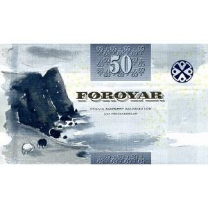 Фарерские острова 50 крон 2011 - UNC
