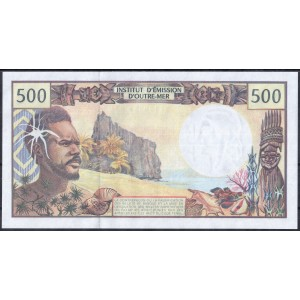 Французские Тихоокеанские Территории 500 франков 1992 - UNC