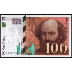 Франция 100 франков 1997 - UNC
