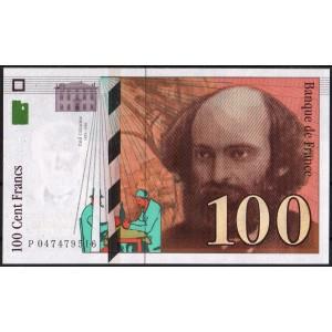 Франция 100 франков 1998 - UNC