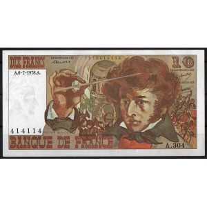 Франция 10 франков 1978 - UNC
