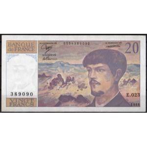 Франция 20 франков 1988 - AUNC