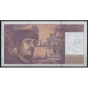 Франция 20 франков 1997 - AUNC