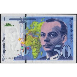 Франция 50 франков 1997 - UNC