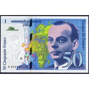 Франция 50 франков 1994 - UNC