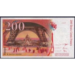 Франция 200 франков 1997 - AUNC.