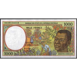 Габон 1000 франков 1993 - UNC