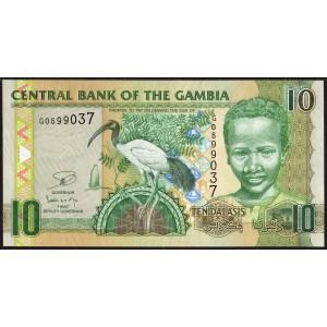 Гамбия 10 деласи 2010 - UNC