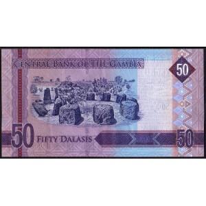 Гамбия 50 деласи 2015 - UNC
