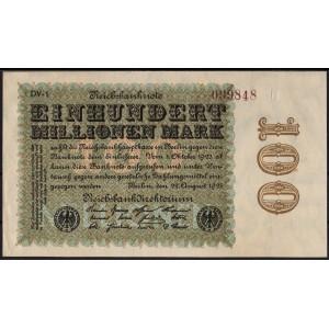 Германия 100 000 000 марок 1923 - AUNC